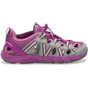 Merrell M-Hydro Choprock Shandal Sandals Children grey/purple